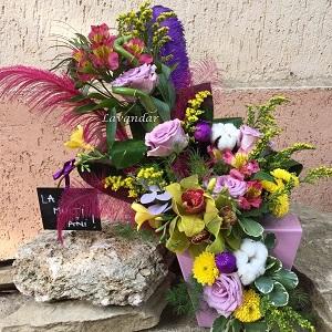 aranjament-floral-plume